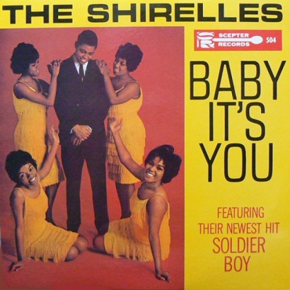 The Shirelles Baby It's You (Scepter LP 504) 1962