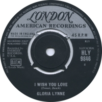 "One Random Single a Day #51: ""I Wish You Love"" (1964) by Gloria Lynne"