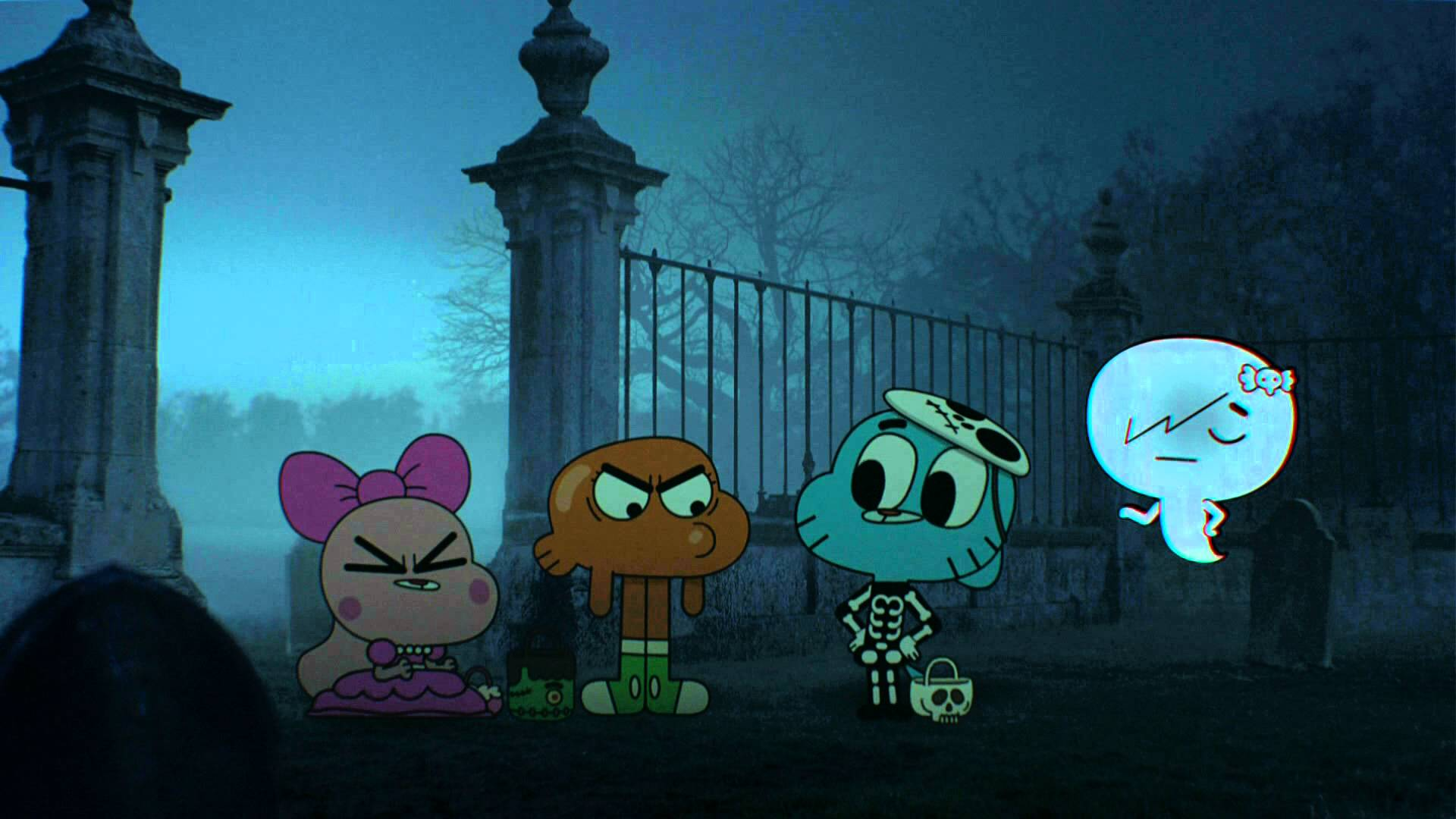halloween tv party: 3 episodes of the amazing world of gumball